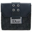 Dior(크리스챤디올) 은장 로고 장식 반지갑 [강남본점]