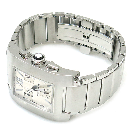 Montblanc(몽블랑) 07134 PROFILE 크로노그래프 스틸 남성용 시계 [동대문점] 이미지2 - 고이비토 중고명품