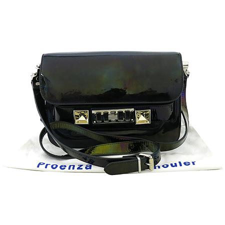 PROENZA SCHOULER(프로엔자슐러) PS11 Mini Classic 블랙 멀티 브론즈 컬러 숄더겸 크로스백 [강남본점]