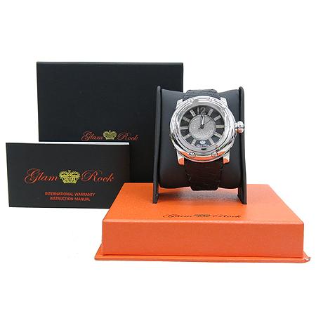 GLAM ROCK(글램 락) GR10046 MIAMI(마이애미) 쿼츠 라운드 스틸 다이얼 다이아 남여공용 시계 [부산센텀본점]
