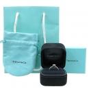 Tiffany(티파니) PT950(플래티늄) 3포인트 다이아 웨딩 반지 - 8 호 [강남본점]