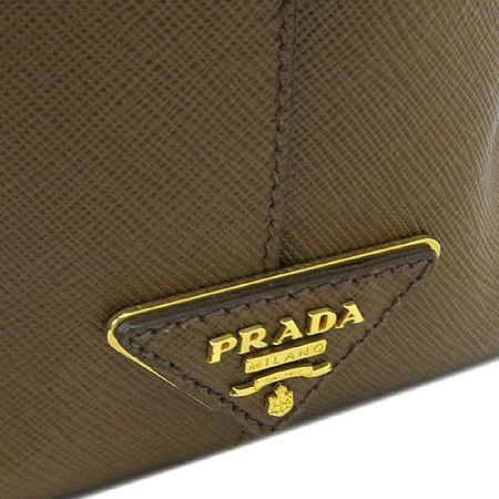 Prada(프라다) BL0757 사피아노 측면 금장 삼각로고 토트백 [인천점]