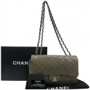 Chanel(샤넬) A28600 클래식 램스킨 점보(L사이즈) 사이즈 은장 체인 숄더백 [대구반월당본점]