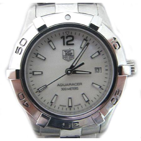 Tag Heuer(태그호이어) WAF1414 AQUARACER(아쿠아레이서) 스틸 여성용 시계