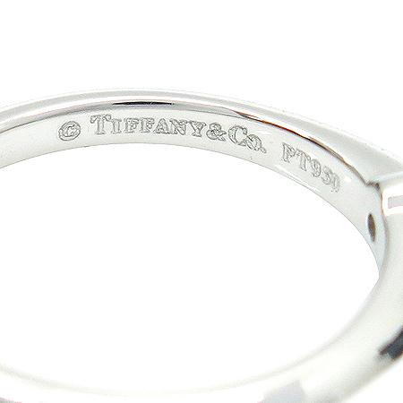 Tiffany(티파니) PT950(플래티늄) 1포인트 다이아 웨딩 반지-13호 이미지3 - 고이비토 중고명품