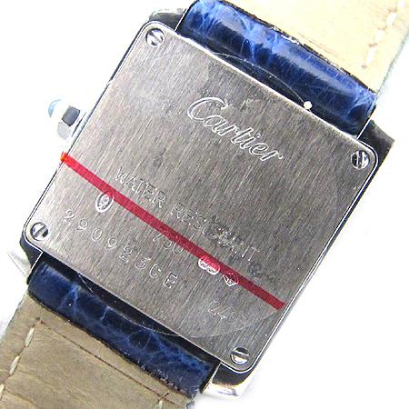 Cartier(까르띠에) W5001256 18K 금통 TANK FRANCAISE(탱크 프랑세스) 가죽 밴드 여성용 시계 이미지5 - 고이비토 중고명품