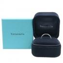 Tiffany(티파니) PT950(플래티늄) ELSA PERETI(엘사퍼레티) 1포인트 다이아 반지 - 6 호 [강남본점]