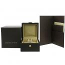 Louis Vuitton(루이비통) Q9A01F 앙프렝트 링 18K 화이트 골드 페이브 다이아몬드 반지 [강남본점]