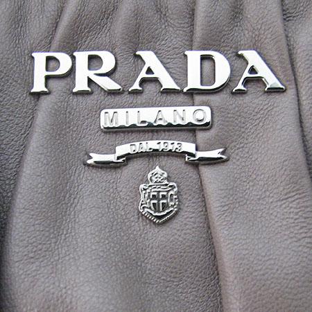 Prada(프라다) BN1789 그레이 나파 레더 고프레 2WAY [대전본점] 이미지4 - 고이비토 중고명품