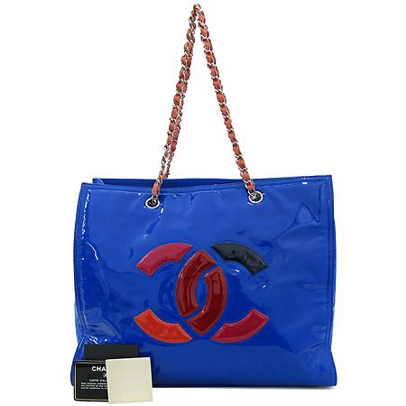 Chanel(샤넬) 크루즈컬렉션 램스킨 페이던트 COCO 멀티컬러 체인 숄더백 [강남본점]