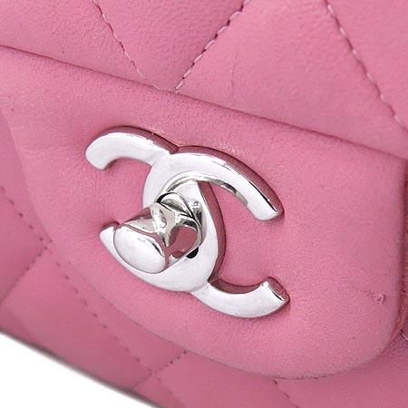 Chanel(샤넬) A58600 클래식 램스킨 점보(L사이즈) 은장 체인 숄더백 [인천점] 이미지4 - 고이비토 중고명품
