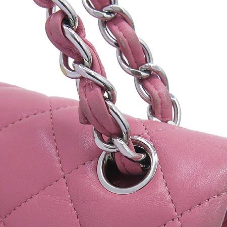 Chanel(샤넬) A58600 클래식 램스킨 점보(L사이즈) 은장 체인 숄더백 [인천점] 이미지5 - 고이비토 중고명품