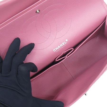 Chanel(샤넬) A58600 클래식 램스킨 점보(L사이즈) 은장 체인 숄더백 [인천점] 이미지6 - 고이비토 중고명품