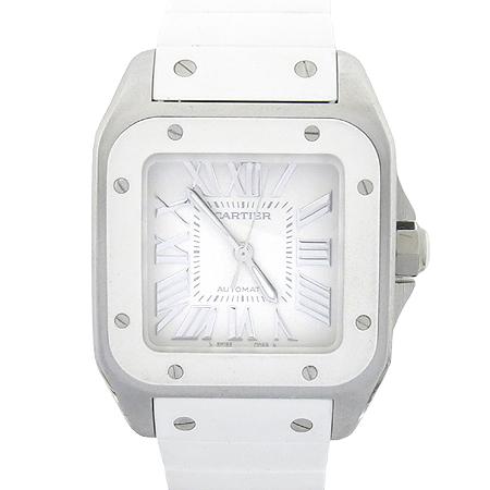 Cartier(까르띠에) W20122U2 산토스 100 주년기념 오토매틱 시계