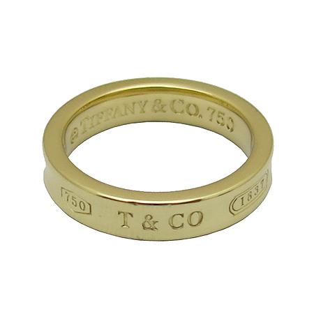 Tiffany(티파니) 18K 골드 1837 로고 네로우 반지-9호 [동대문점] 이미지3 - 고이비토 중고명품