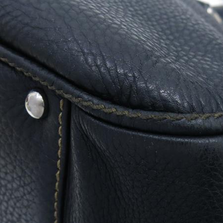 Chanel(샤넬) 블랙 레더 테슬 장식 토트 겸 숄더백 [부산센텀본점]