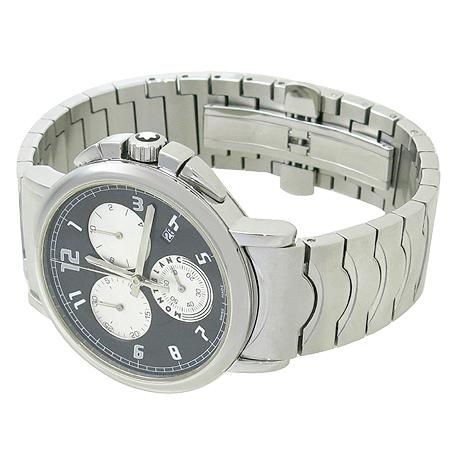Montblanc(몽블랑) 09655 SUMMIT (서밋) CHRONOGRAPH  스틸 쿼츠 남성용 시계 [강남본점] 이미지3 - 고이비토 중고명품