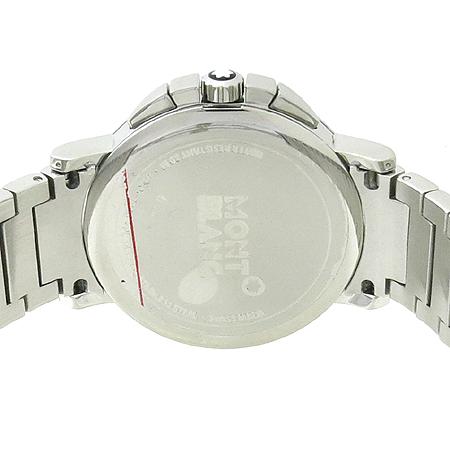 Montblanc(몽블랑) 09655 SUMMIT (서밋) CHRONOGRAPH  스틸 쿼츠 남성용 시계 [강남본점] 이미지5 - 고이비토 중고명품