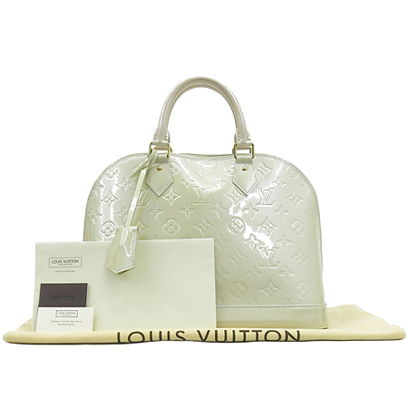 Louis Vuitton(루이비통) M91445 모노그램 베르니 블랑코레일 알마 PM 토트백 [강남본점]