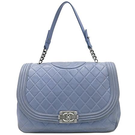 Chanel(샤넬) 퀼팅 램스킨 보이 빈티지 체인 토트백 [강남본점] 이미지2 - 고이비토 중고명품