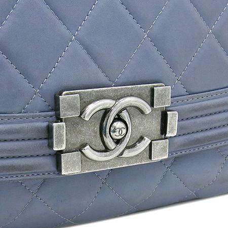 Chanel(샤넬) 퀼팅 램스킨 보이 빈티지 체인 토트백 [강남본점] 이미지4 - 고이비토 중고명품