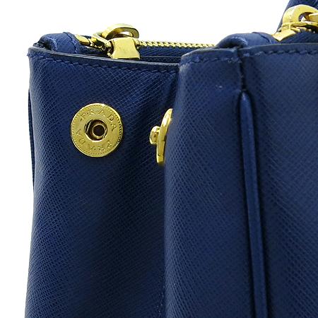Prada(프라다) BN1786 SAFFIANO LUX NERO 사피아노 럭스 블루 금장로고 토트백 [대구반월당본점] 이미지5 - 고이비토 중고명품