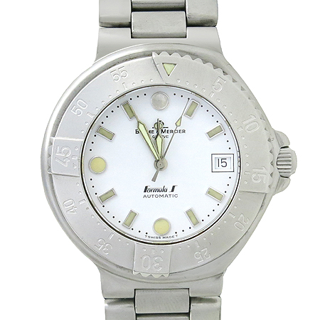 Baume&Mercier (보메메르시에) FORMULA S (포뮬라) 스틸 오토매틱 남성용 시계 [강남본점]