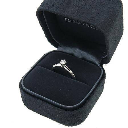 Tiffany(티파니) PT950(플래티늄) 0.16ct(캐럿) 다이아 웨딩 반지 - 8 호  [대구반월당본점] 이미지2 - 고이비토 중고명품