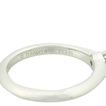 Tiffany(티파니) PT950(플래티늄) 0.16ct(캐럿) 다이아 웨딩 반지 - 8 호  [대구반월당본점] 이미지4 - 고이비토 중고명품