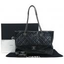 Chanel(샤넬) 크루즈컬렉션 클래식 플랩 퀼팅 레더 빈티지 체인 쇼퍼 숄더백 [강남본점]
