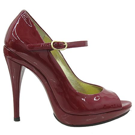 D&G(돌체&가바나) 레더 페이던트 오픈토 하이힐 여성용 구두 [부산센텀본점] 이미지3 - 고이비토 중고명품