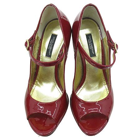 D&G(돌체&가바나) 레더 페이던트 오픈토 하이힐 여성용 구두 [부산센텀본점] 이미지4 - 고이비토 중고명품
