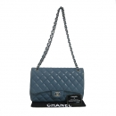 Chanel(샤넬) A58600 클래식 램스킨 점보(L사이즈) 은장 체인 숄더백  [대구반월당본점]