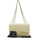 Chanel(샤넬) A28600 캐비어스킨 클래식 점보 사이즈 금장로고 체인 숄더백 [대구반월당본점]