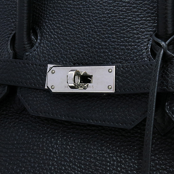 Hermes(에르메스) 토고 블랙 벌킨 35 은장 토트백 [대구동성로점] 이미지4 - 고이비토 중고명품