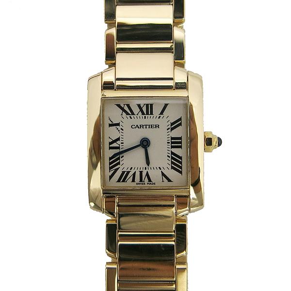 Cartier(까르띠에) W50002N2 18K 금통 탱크 S 사이즈 여성용 시계 [동대문점] 이미지2 - 고이비토 중고명품