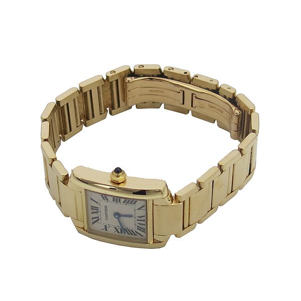 Cartier(까르띠에) W50002N2 18K 금통 탱크 S 사이즈 여성용 시계 [동대문점] 이미지3 - 고이비토 중고명품