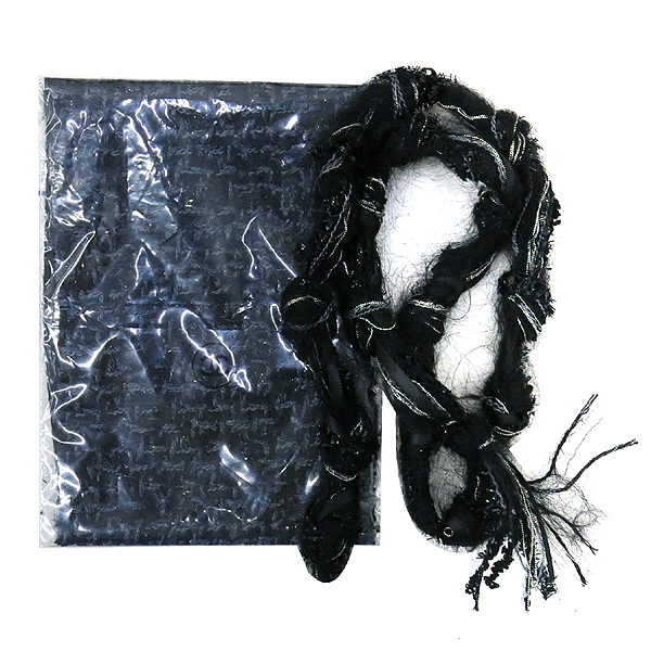 Chanel(샤넬) 크루즈컬렉션 COCO로고 블랙 트위드 여성 자켓 [동대문점] 이미지7 - 고이비토 중고명품