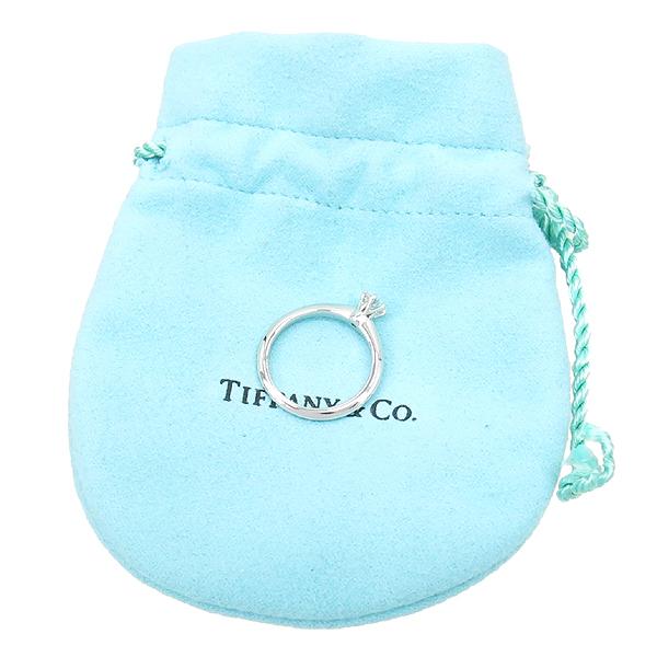 Tiffany(티파니) PT950 (플래티늄) 0.21 캐럿 다이아 웨딩 반지 - 8 호 / 티파니 정식매장 사이즈 조절가능 [강남본점]