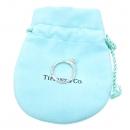 Tiffany(티파니) PT950 (플래티늄) 0.21 캐럿 다이아 웨딩 반지 - 8 호 [강남본점]