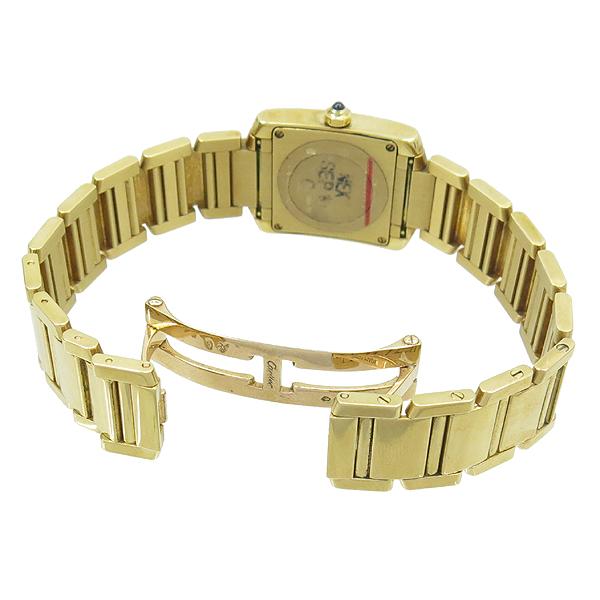 Cartier(까르띠에) W50002N2 18K 금통 탱크 여성용 시계 [강남본점] 이미지3 - 고이비토 중고명품