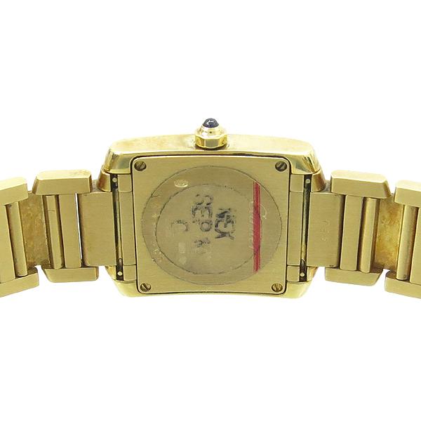 Cartier(까르띠에) W50002N2 18K 금통 탱크 여성용 시계 [강남본점] 이미지4 - 고이비토 중고명품