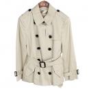Burberry(버버리) BRIT 베이지 컬러 여성용 하프 트렌치 코트 [부산센텀본점]