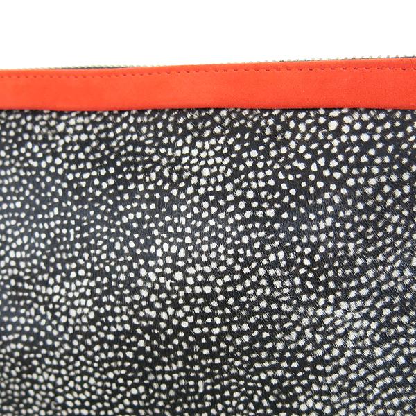 PIERRE HARDY(피에르 하디) 송치 레더 오렌지 레더 트리밍 클러치 [동대문점] 이미지3 - 고이비토 중고명품