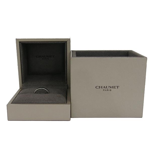 CHAUMET(쇼메) PT950(플래티늄) 플룸 인사이드 1포인트 다이아 반지-8호 [동대문점]