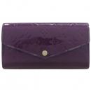 Louis Vuitton(루이비통) M90292 모노그램 베르니 Magenta 사라 월릿 장지갑 [강남본점]