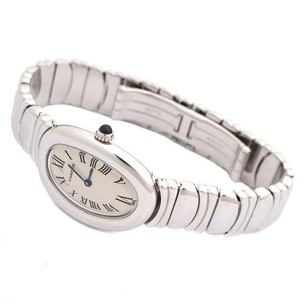 Cartier(까르띠에) W15133L2 18K(750) 화이트골드 BAIGNOIRE(베누아) 금통 여성용 시계 [인천점] 이미지2 - 고이비토 중고명품