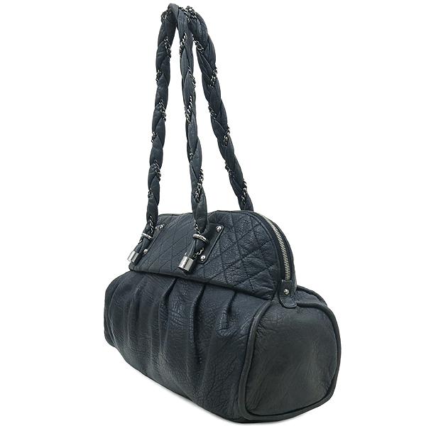 Chanel(샤넬) 블랙 퀼팅 스티치 레더 볼링 체인 숄더백 [부산센텀본점] 이미지3 - 고이비토 중고명품