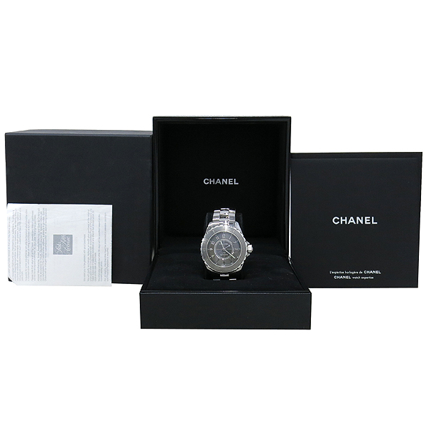 Chanel(샤넬) H2979 오토매틱 J12 크로매틱 티타늄 38MM 남성용 시계 [강남본점]