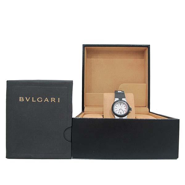 Bvlgari(불가리) AL29TA DIAGONO (디아고노) ALUMINIUM (알루미늄) 러버밴드 여성용 시계 [인천점]